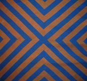 """CHEVRON"" Amish Quilt, wool, c.  1880s"